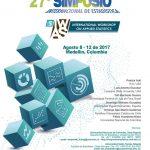 Ernesto San Martín y Trinidad González presentan en el 27º Simposio Internacional de Estadística