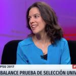 Verónica Santelices, Investigadora de LIES, discute en Vía Pública de TVN acerca de los nuevos desafíos de la Prueba de Selección Universitaria