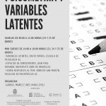 Presentaciones disponibles Seminario Psicometría y Variables Latentes
