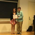 Inés Varás investigadora LIES, obtiene el Travel Award para IMPS 2018