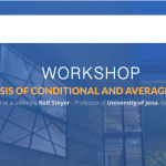"Se abren inscripciones para el workshop ""Theory and Analysis of Conditional and Average Causal Effects"", dictado por Rolf Steyer. Cupos limitados"