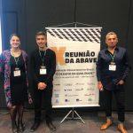 Ernesto San Martín, Jorge González y Trinidad González realizan presentaciones en X Reunión ABAVE