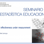 Seminario de Estadística Educacional – School effectiveness under measurement error