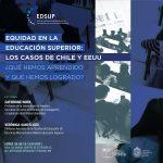 """Verónica Santelices, investigadora LIES, presentó en el seminario """"Equidad en la Educación Superior: Los casos de Estados Unidos y Chile ¿Qué hemos aprendido y qué hemos logrado?"""""""