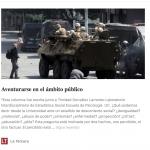 Trinidad González Larrondo y Ernesto San Martín publican columna en La Tercera: Aventurarse en el ámbito público